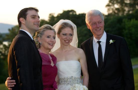 Chelsea Clinton Wedding Photos, Celebrity Wedding Photos