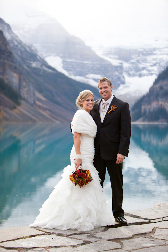 Lake Louise Wedding Planner Jodie Chris Jennifer