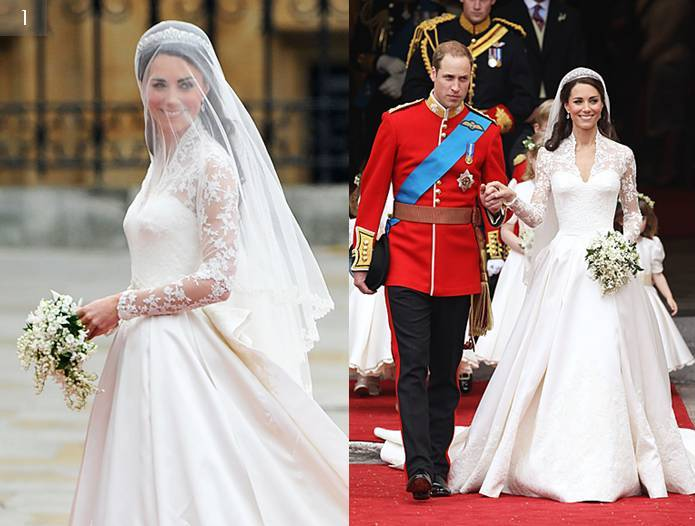 Royal Wedding Trends, Kate Wedding Dress