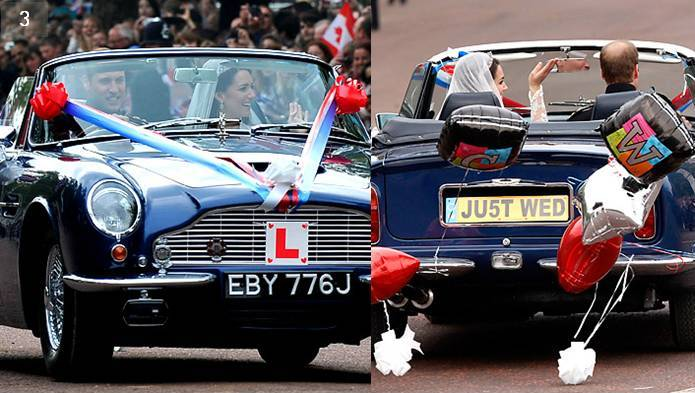 Royal Wedding Car, Getaway Car