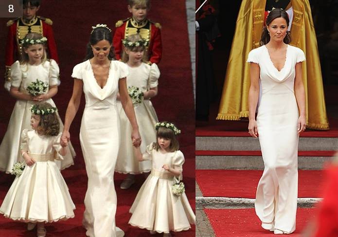Pippa Middleton Dress, Royal Wedding Bridesmaids