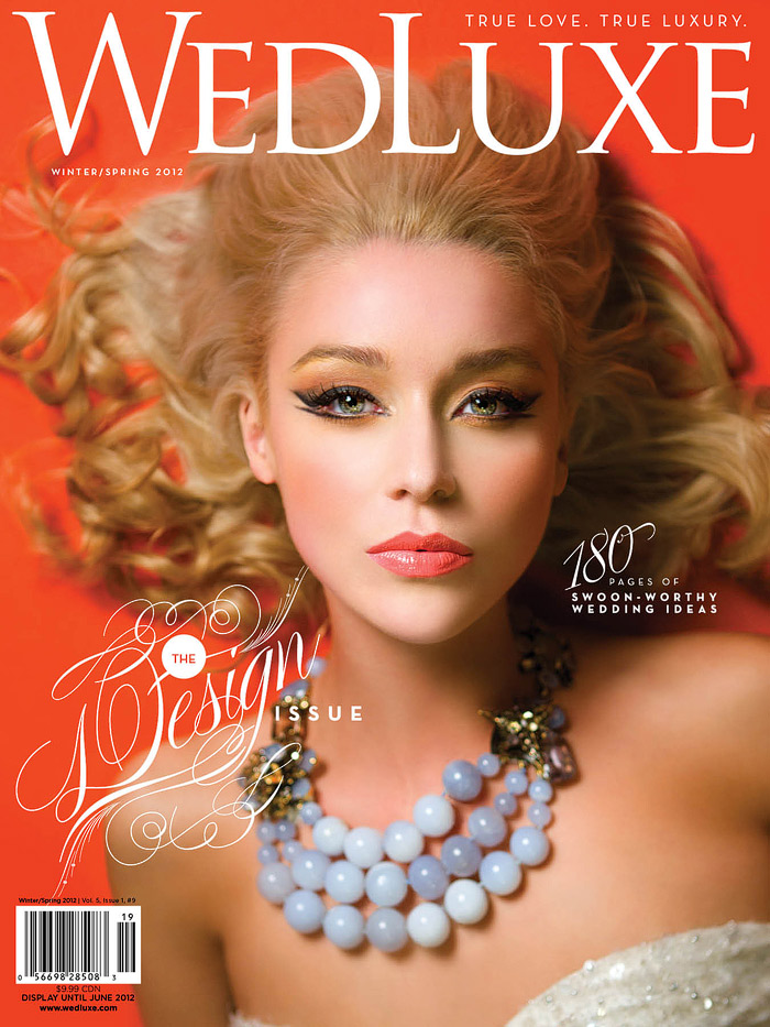 WedLuxe Magazine Feature
