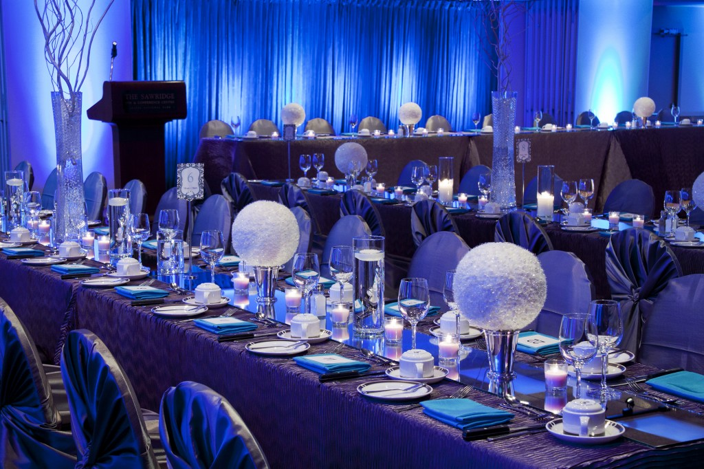 Lighting at wedding receptions jennifer bergman weddings - Decoration tables mariage ...