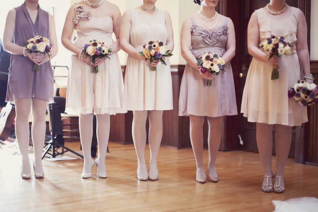 Non Matching Bridesmaid Dresses