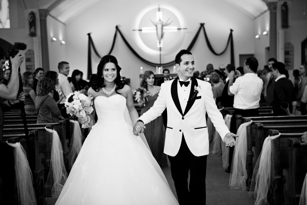 Groom white tuxedo wedding