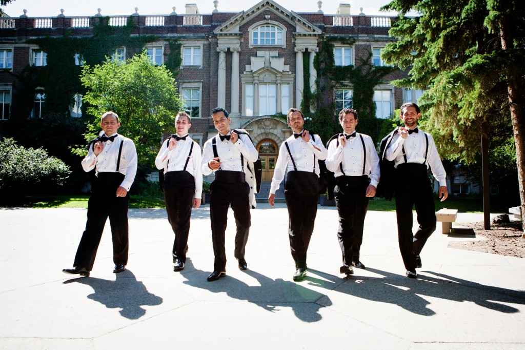 University of Alberta wedding photos