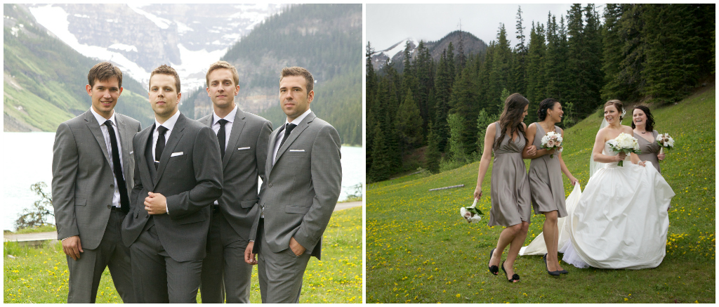 Lake Louise Outdoor Mountain Wedding