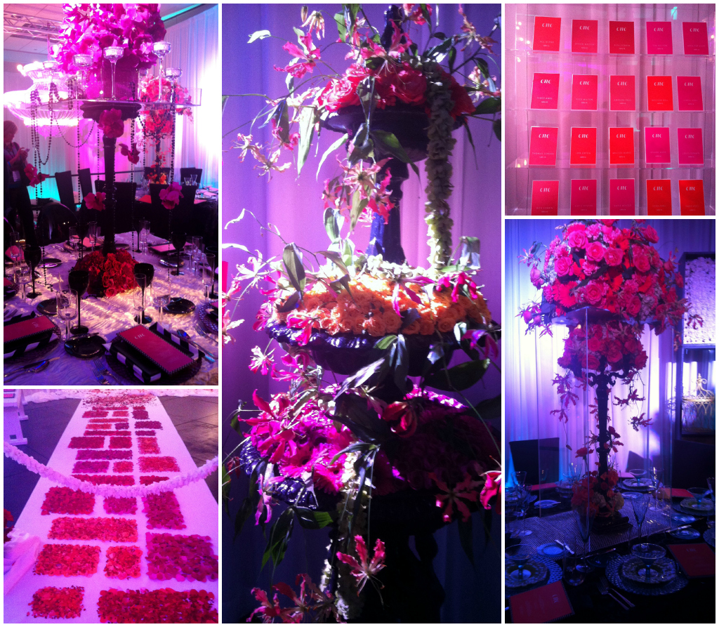 Modern Pink Purple Wedding