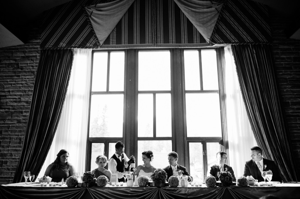 Edmonton Wedding Planner, Black and White Wedding Photos