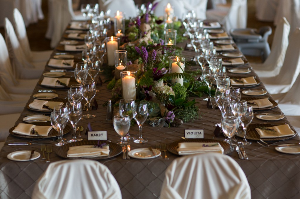 Rustic Elegant Wedding, Jasper Weddings, Brow Table Cloth, White Chair Covers