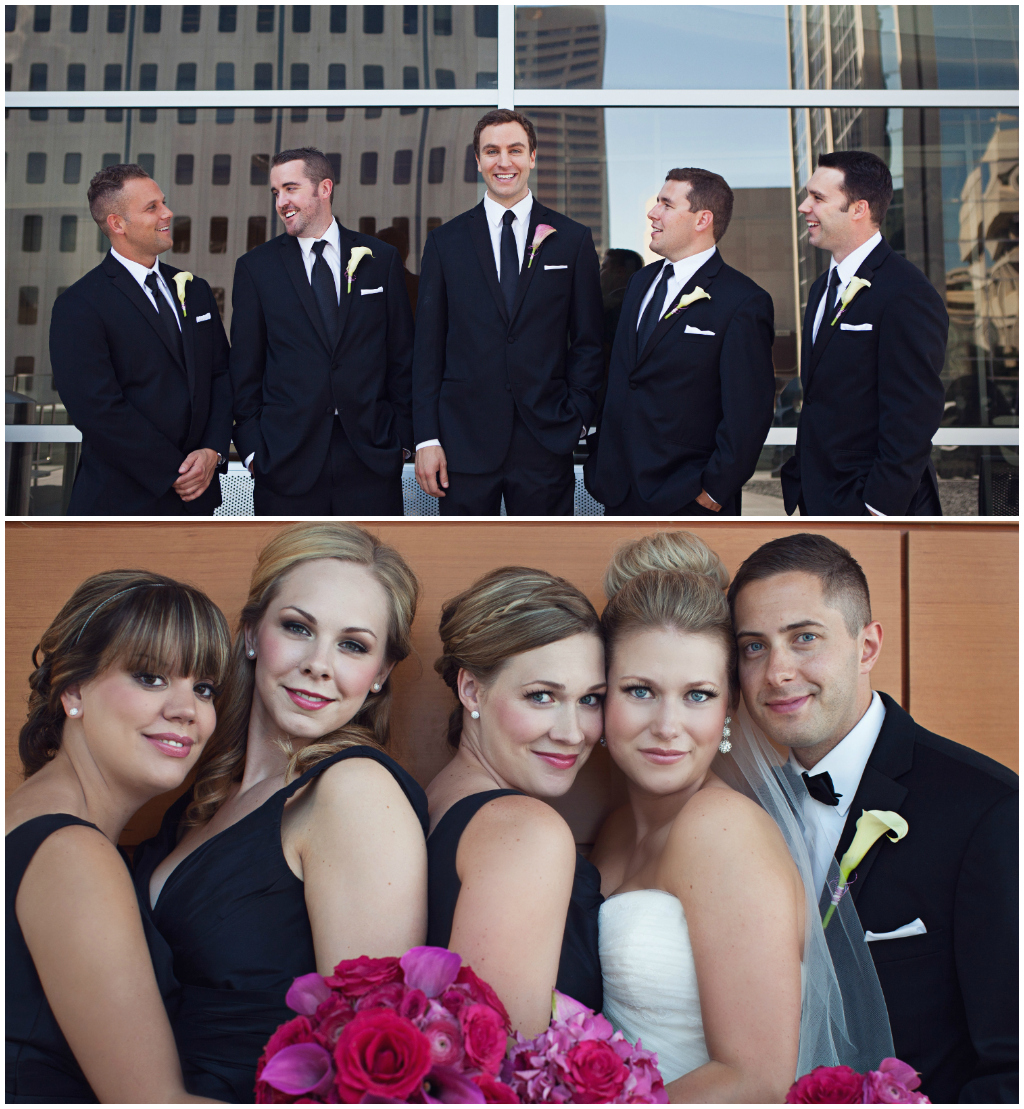 Downtown Edmonton Wedding Photos