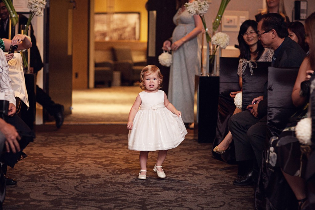 Cute Flower Girl, Edmonton Wedding Planner