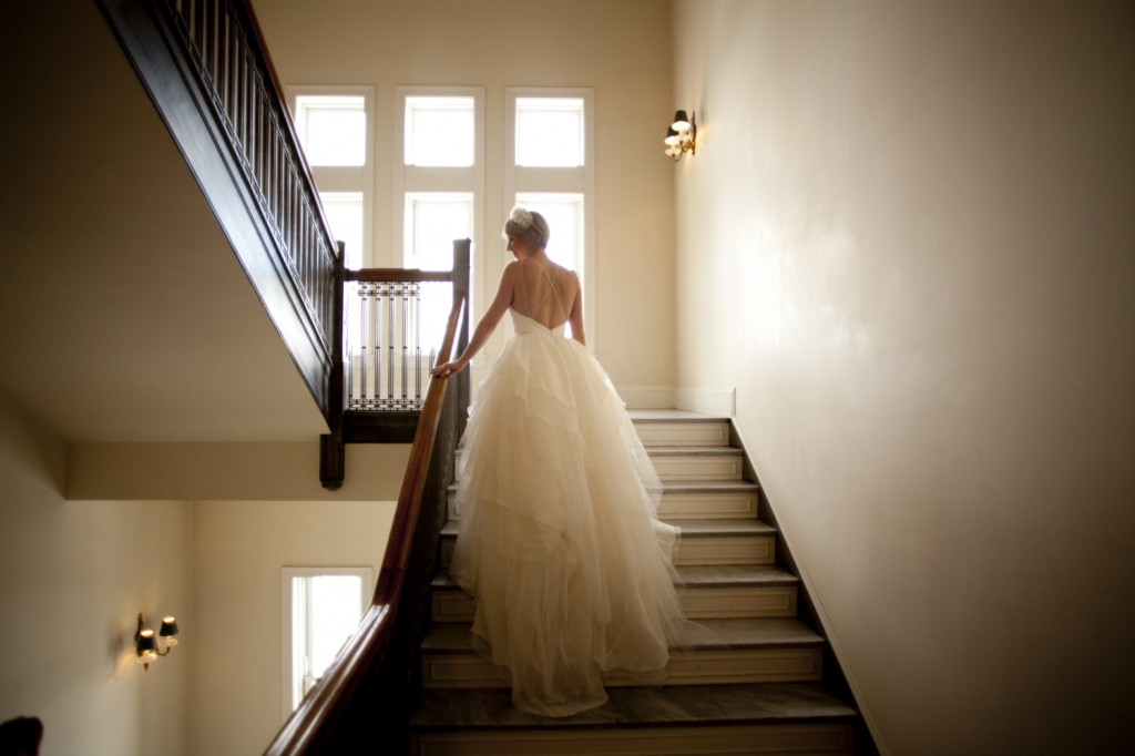 Stairwell Wedding Pictures