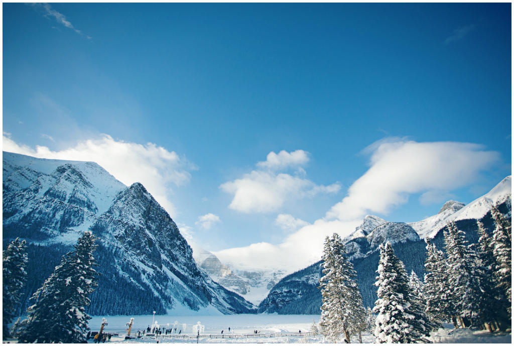 Banff Winter Wedding, Lake Louise Wedding