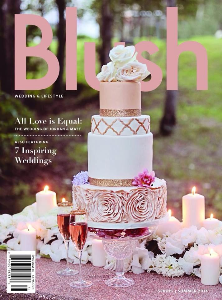 Blush Wedding Magazine Edmonton