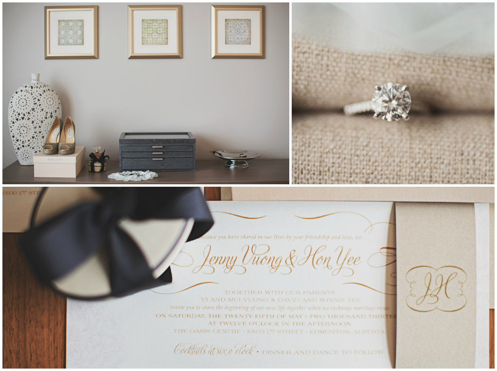Edmonton Wedding Stationary