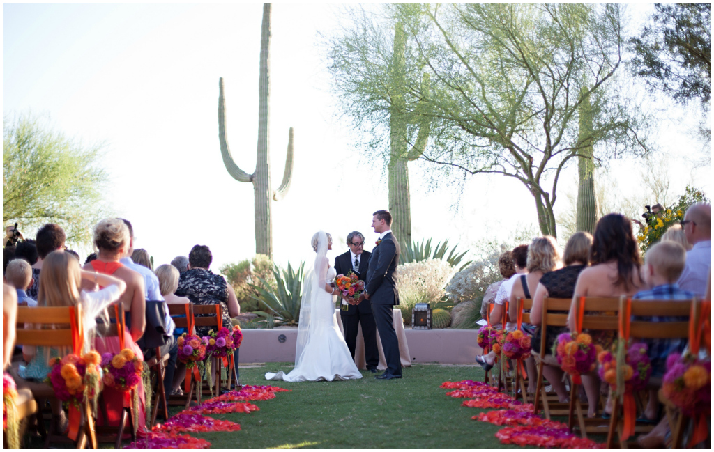 Scottsdale Outdoor Wedding Ceremony