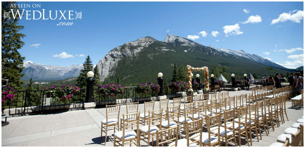 Banff Outdoor Ceremony