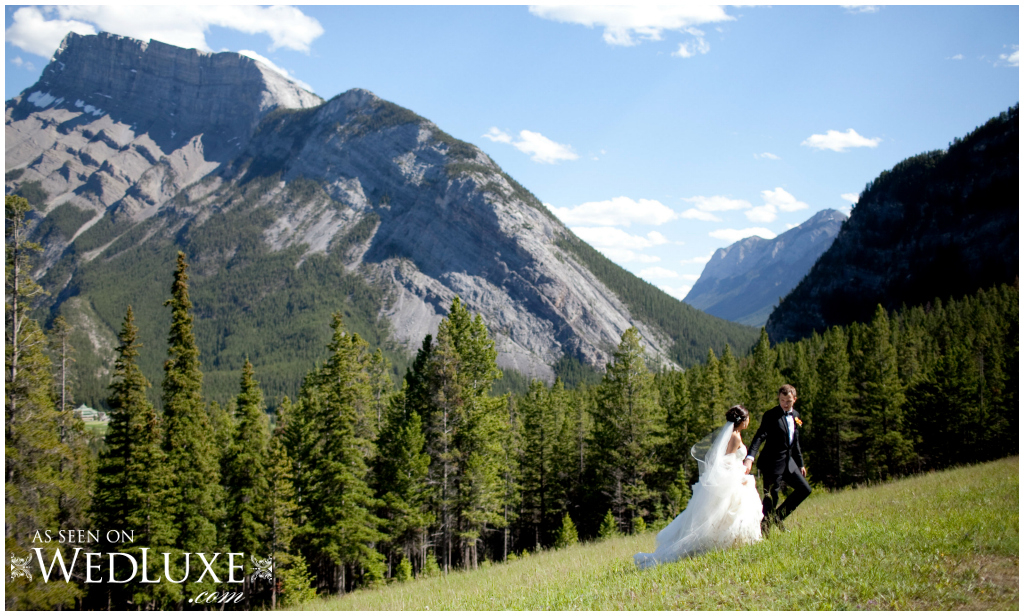 Banff wedding photos