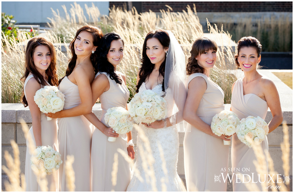 Light bridesmaid dresses