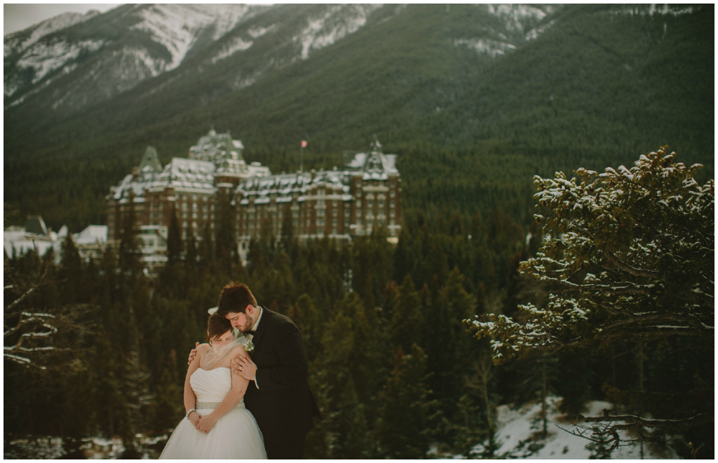 The Fairmont Banff Springs Hotel Wedding