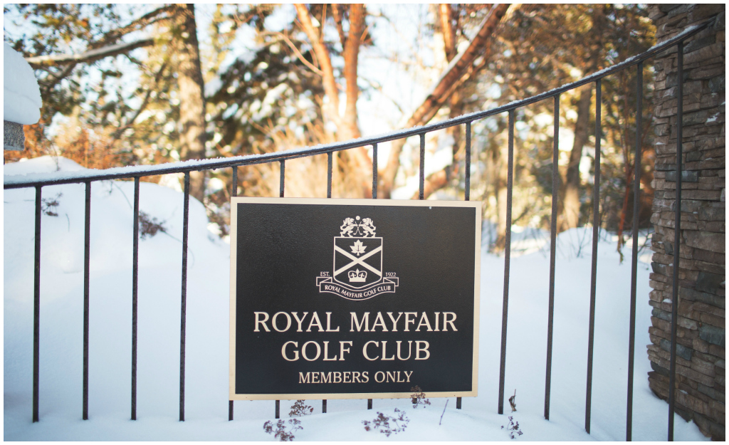 Royal Mayfair Golf Club Baby Shower