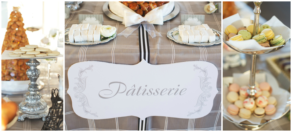French Desserts Table