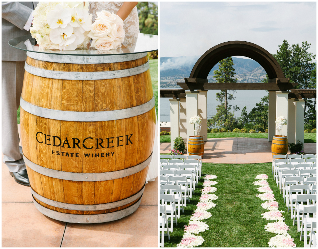 Kelowna Winery Wedding