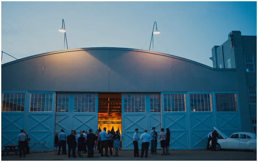 Fort Edmonton Hangar Wedding