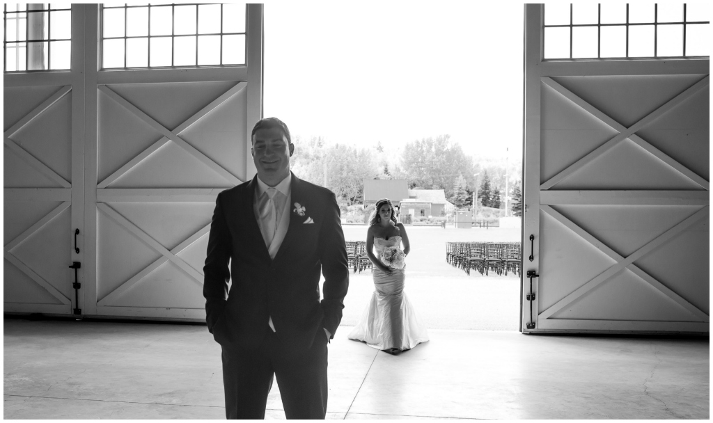 Hangar Wedding Edmonton
