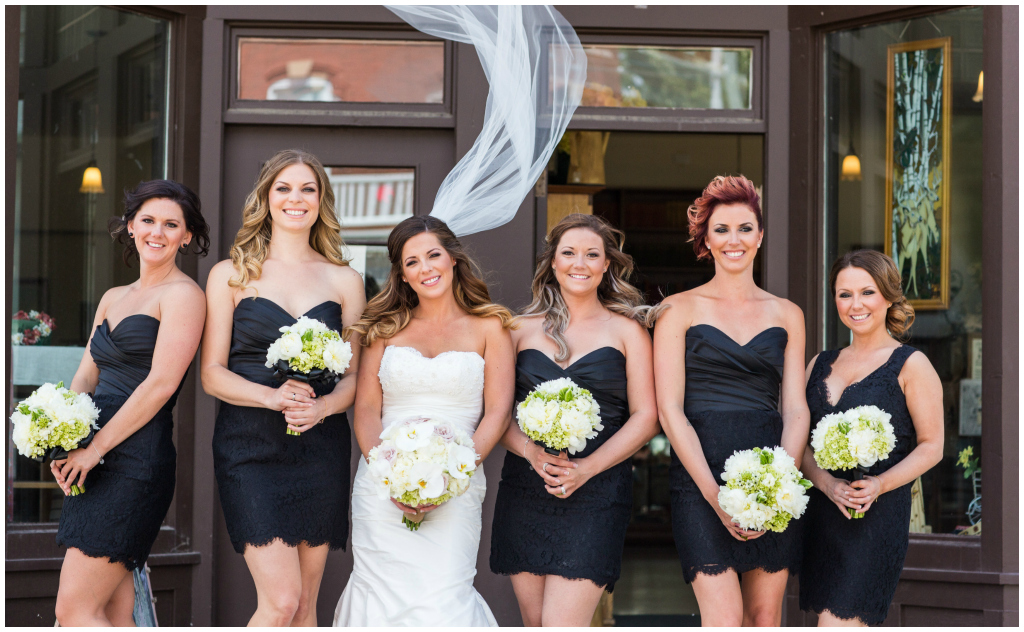 Delica Bridal Edmonton, Fort Edmonton Park Wedding