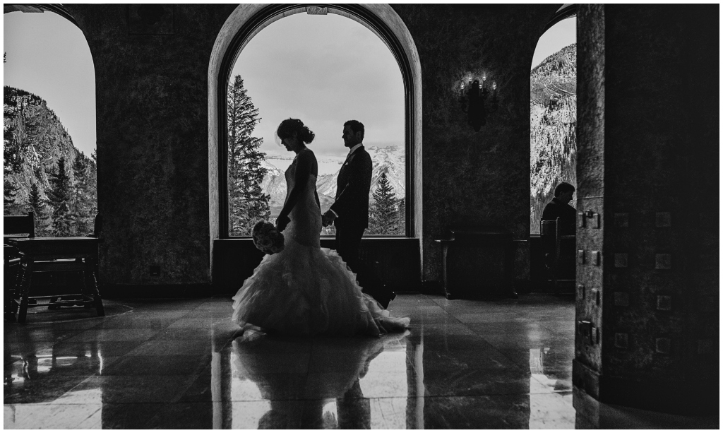 Banff Springs Wedding