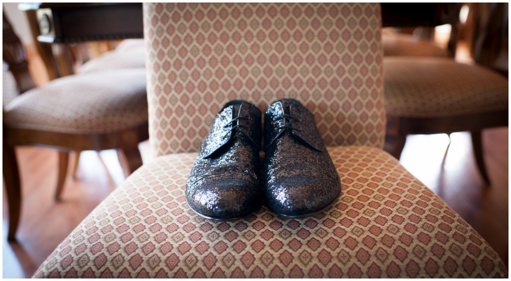 Black Sparkle Men Shoe, Groom's Sparkle Shoe