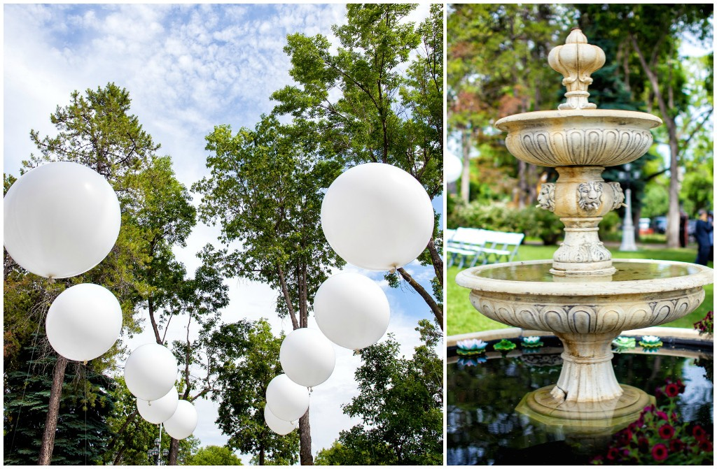 Edmonton Weddings, Giant Balloons Wedding