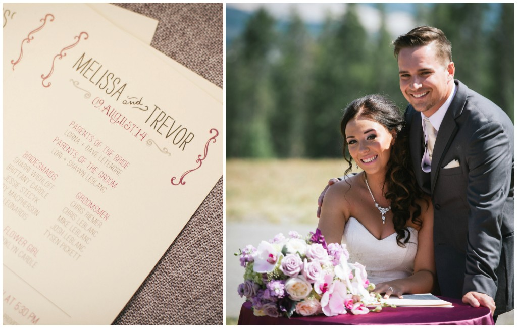 Edmonton Wedding Stationery