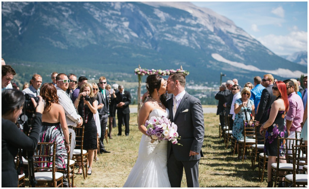 Outdoor Canmore Wedding
