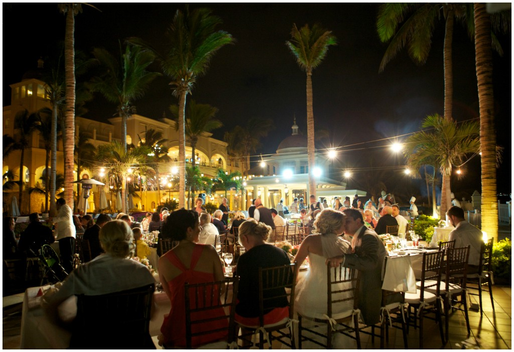 Outdoor Wedding Reception RIU Palace Los Cabos