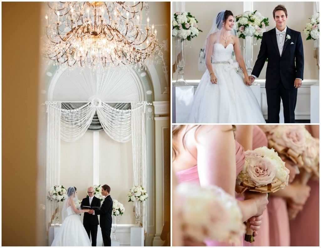 Wedgwood Ballroom Wedding Ceremony