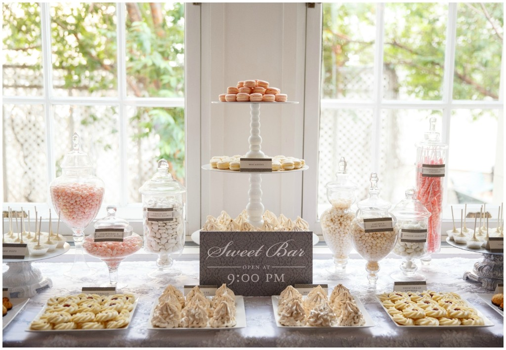 Wedding Sweets Table, The Art of Cake