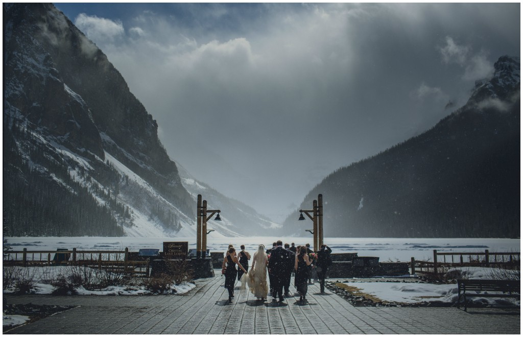 Lake Louise Spring Wedding
