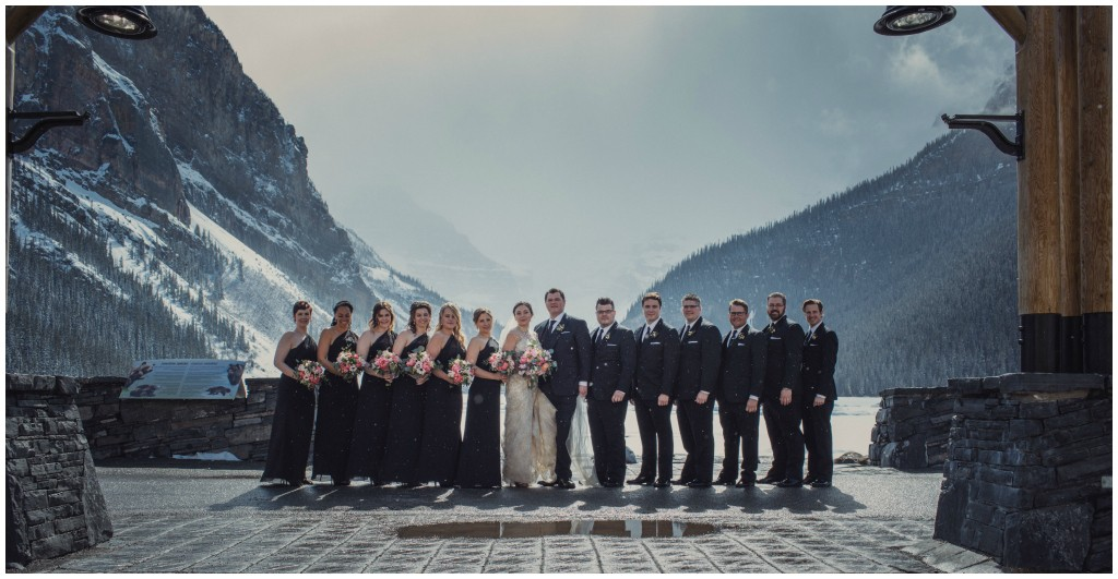 Spring Wedding Lake Louise