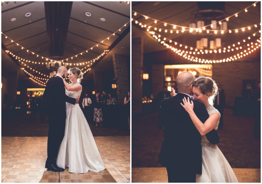 cafe lights first dance
