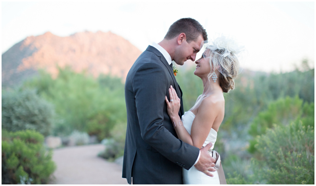 Scottsdale Arizona Desert Wedding Photos