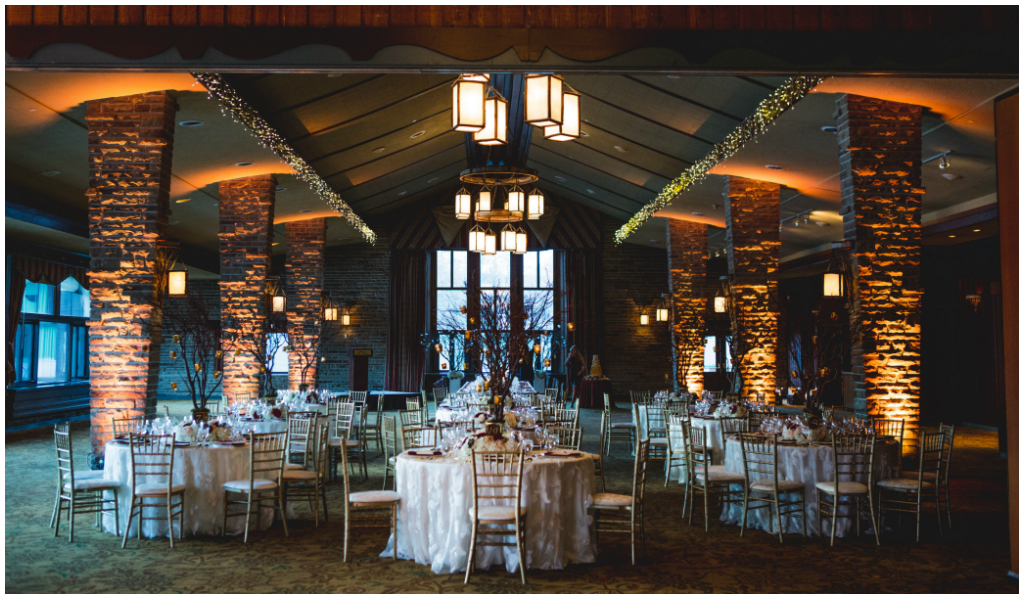 Jasper Park Lodge Wedding in Beauvert Room