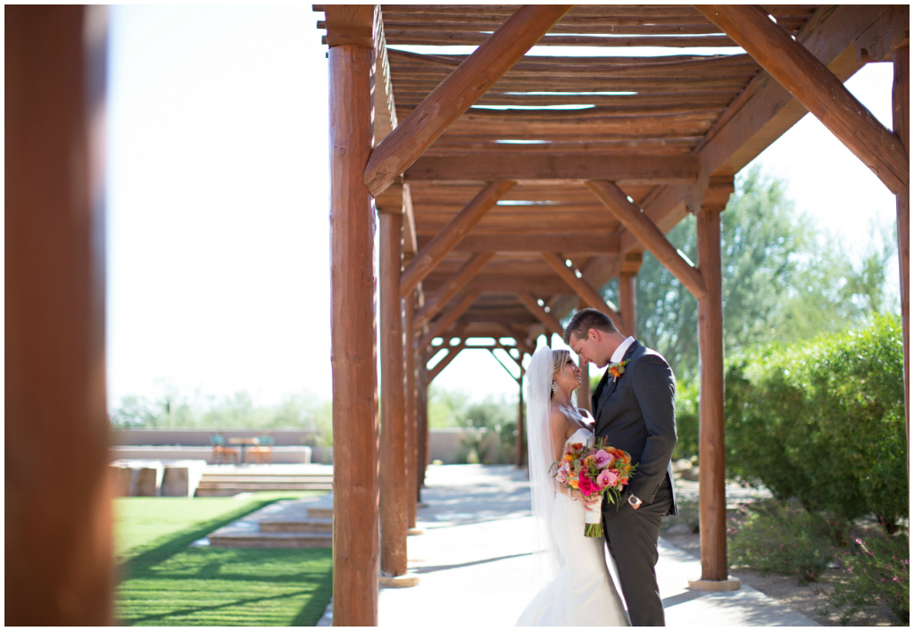 Four seasons Scottsdale Troon North Wedding