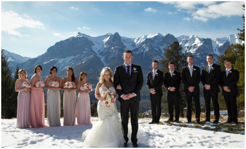 Canmore Wedding Photographer Midnightea