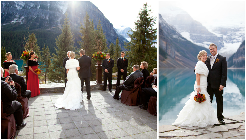 Lake Louise Outdoor Ceremony