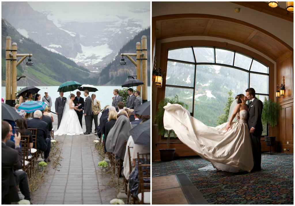 Jennifer Bergman Weddings Lake Louise