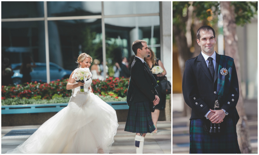 Scottish Kilt Groom Edmonton