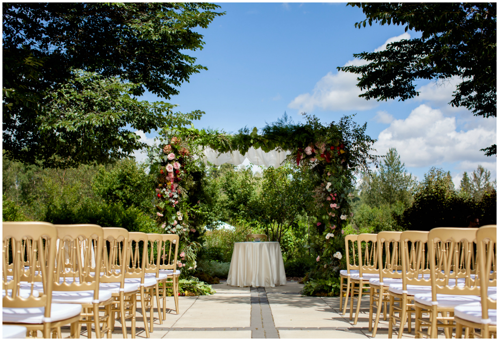 Devonian Garden Wedding